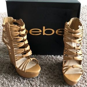 Shoes - Brianna Bebe wedges